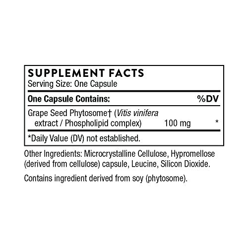 Thorne Research - O.P.C.-100 - Grape Seed Phytosome for Antioxidant Support - 60 Capsules by Thorne Research (Image #1)