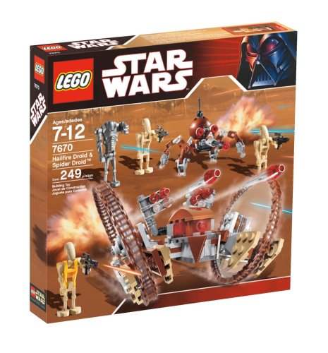 (LEGO Star Wars Hail-Fire Droid & Spider Droids)