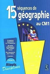 15 séquences de géographie au CM1
