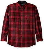 Pendleton Men's Long Sleeve Button Front Classic-Fit Fireside Shirt