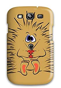 Premium Hedgehog Smiling Heavy-duty Protection Case For Galaxy S3