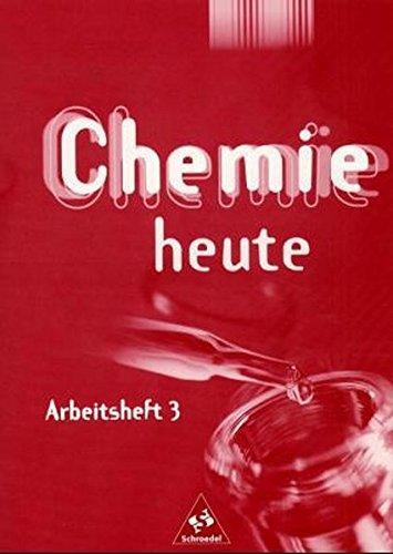 Chemie Heute SI   Arbeitshefte Ausgabe 2001  Arbeitsheft 3
