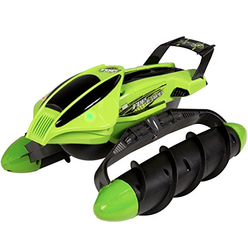 Best Choice Products 8 Channels 2.4G Remote Control All-Terrain 4WD Twister Boat RC Car Vehicle, UL Charger, Batteries