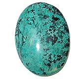 Chrysocolla Polished Stone 55 Big Oval Turquoise Sonora Sunset Stone Healing Energy Cabochon Crystal 2''