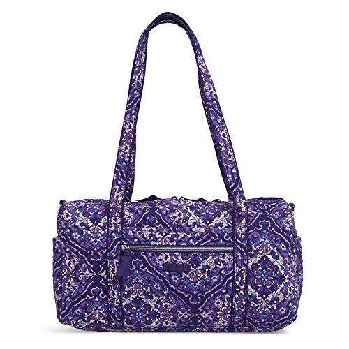Vera Bradley Signature Cotton Travel Duffel Bag, Regal Rosette