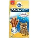 Pedigree Dentastix Original Mini Dog Treats, 6 Ounce -- 8 per case.