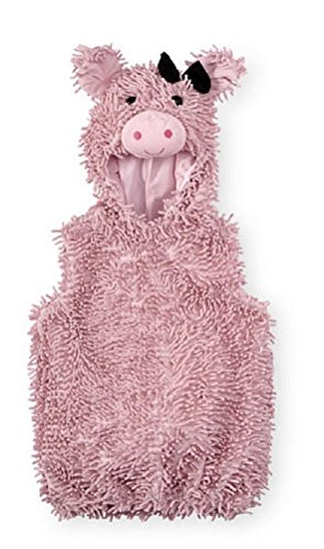 Baby Koala Kids Chenille Pink Pig Costume (6-9 Months) (Infant Pig Costume)