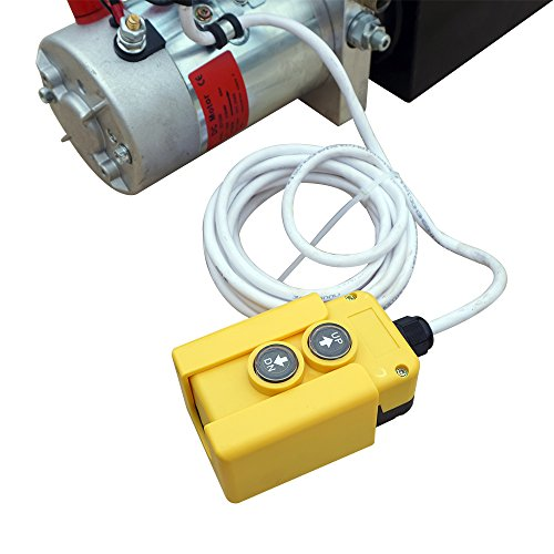 High Quality Double Acting Hydraulic Pump12V Dump Trailer- 6 Quart 3200 PSI Max. by Fisters (Image #5)