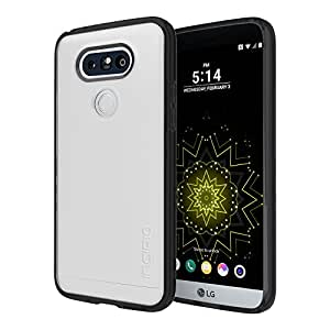 LG G5 Case, Incipio [Co-Molded Case][Shock Absorbing] Octane Pure Case for LG G5-Clear/Black