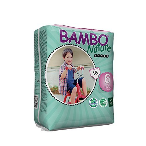 Bambo Nature Baby Training Pants Classic, Size 6 (2 Cases of 90)