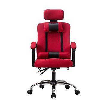 Silla de Oficina, sillas giratorias de Escritorio Respaldo Alto ...