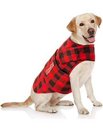 F Fityle Dog Thunder Jacket Comfort Anti Anxiety Stress Relief Calming Wrap Vests for Small Medium Large Dogs XS//S//M//L//XL Blue//Grey//Light Gray//Rose Red L - Rose Red