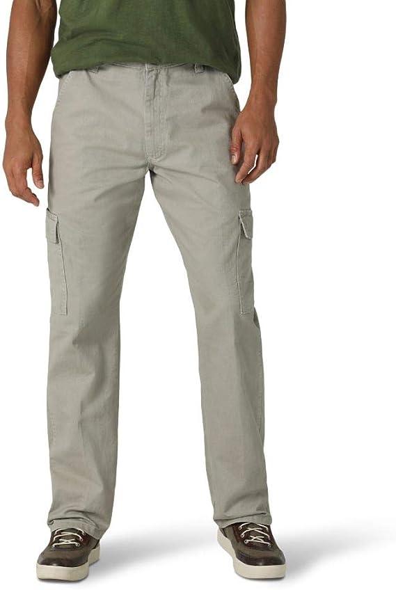 Wrangler Pantalones Cargo De Sarga Clasicos De Ajuste Relajado Pantalones Casuales Para Hombre Amazon Com Mx Ropa Zapatos Y Accesorios
