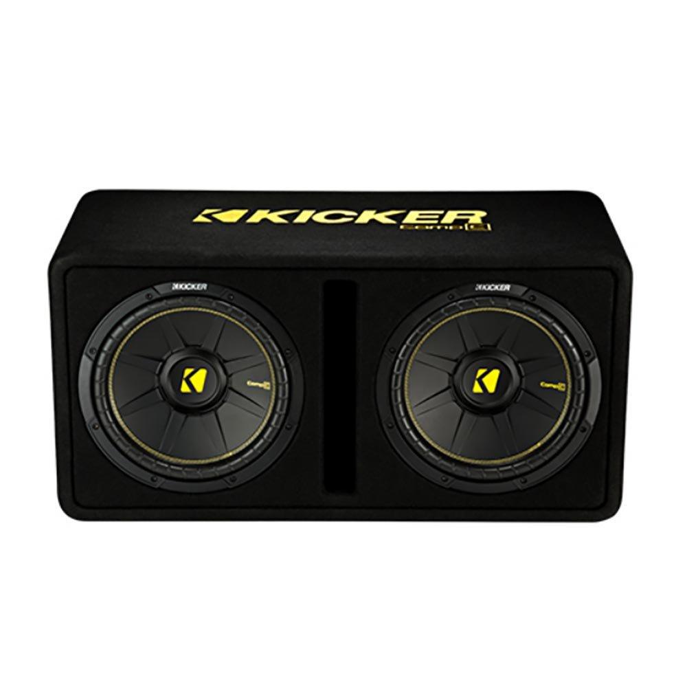 Kicker 44dcwc122 12 1200w Car Audio Subwoofer Sub 5 Channel Amplifier Vm 4gauge Wiring Kit Enclosure Mono Amp Electronics
