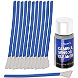 APS-C Frame (CCD/CMOS) Digital Camera Sensor Cleaning Swab Type 2 Cleaning Kit (Box of 12 X 16mm Swab + 15ml Sensor Cleaner)