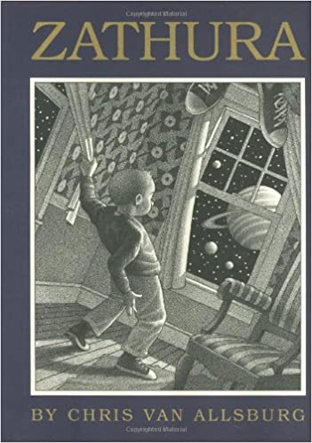 Zathura by Chris Van Allsburg is the perfect book to show how new stories can stem from other books