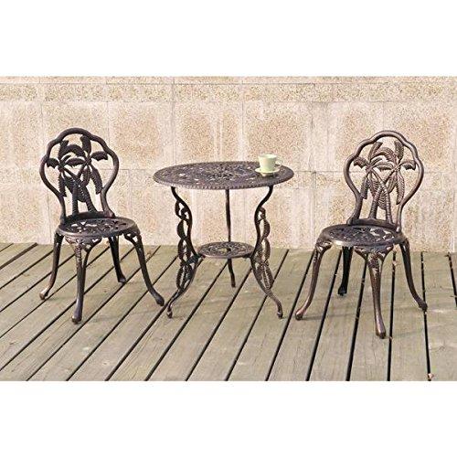 Patio furniture, Outdoor Bistro Sets, Bistro Set 3 Piece ...