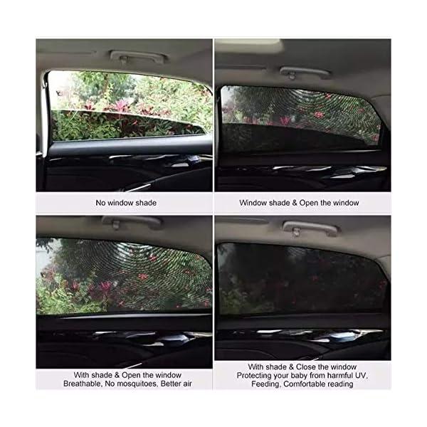 Tendine Parasole Auto Bambini Stefe Parasole Auto Bambini, Anti-zanzara e Blocca Raggi UV, Oscura Vetri, Protegge i tuoi… 4 spesavip