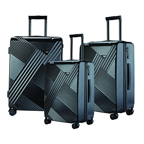 travelers-club-luggage-percey-3-piece-abs-pc-luggage-set-with-8-wheel-double-spinner-black