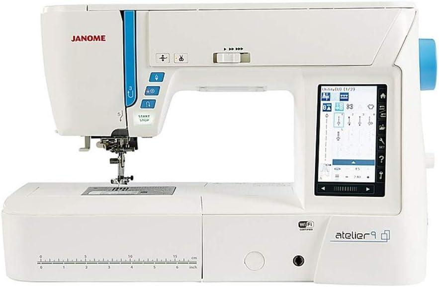 Janome Atelier 9 Máquina de coser y bordar: Amazon.es: Hogar