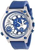 Joshua and Sons Men's JS-13-BU Duel Time Quartz Chronograph Strap Watch, Watch Central