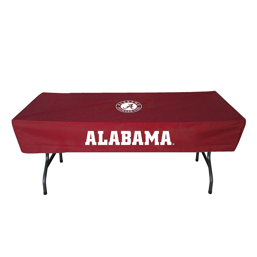 Rivalry Sports Team Logo Design Outdoor Travel Tailgating Alabama 6 Foot Table Cover