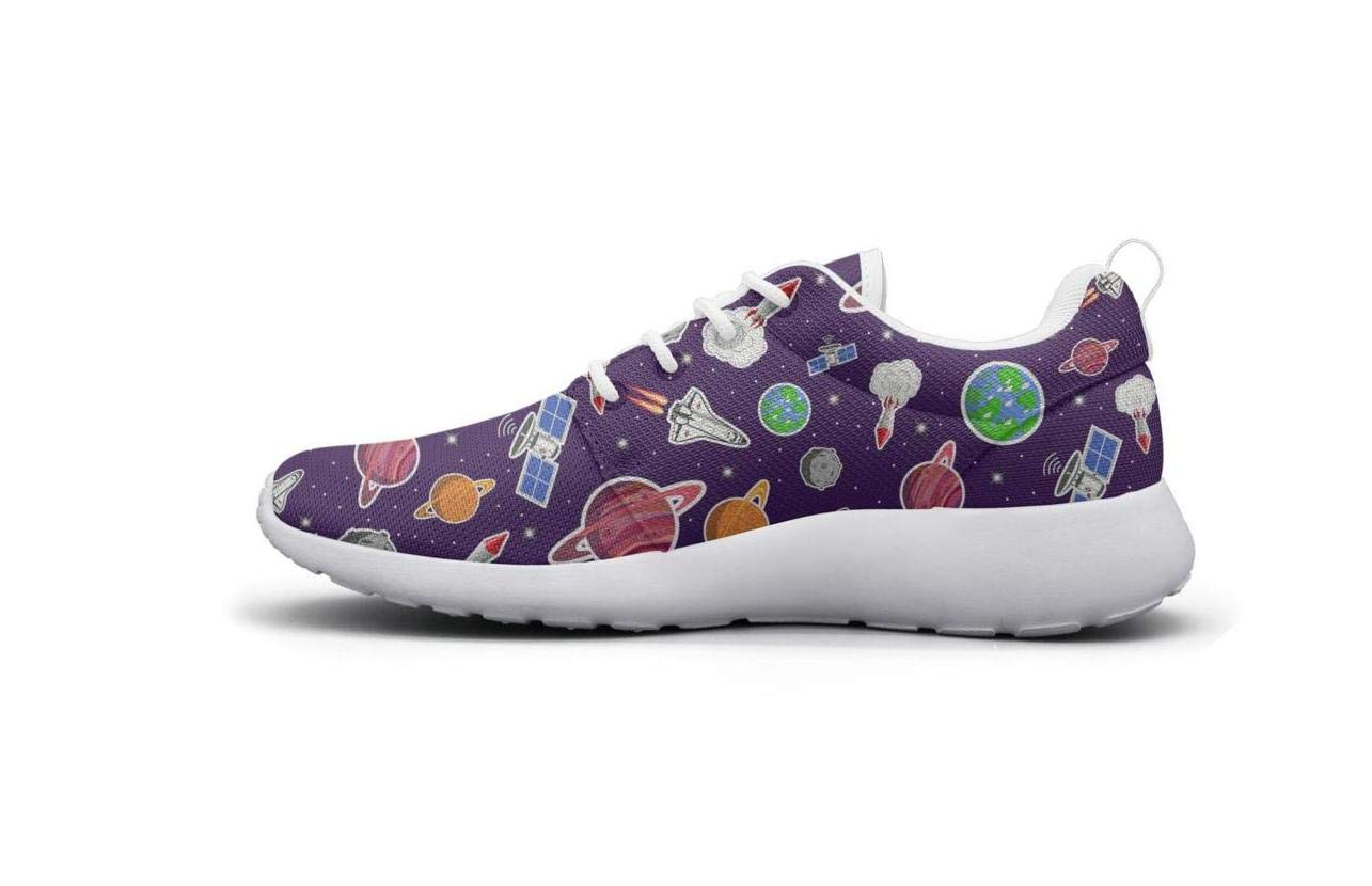 HAPPOSPORT Cute Print Womens Sports Running Shoes Casual Lightweight Athletic Sneakers