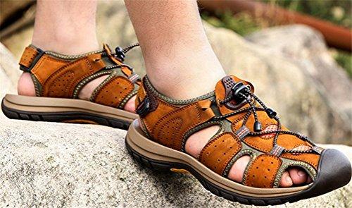 Mens Athletic Sandal Outdoor Sport Sandal Light Brown OU0y0jnYF