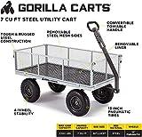 Gorilla Carts GOR1001-COM Heavy-Duty Steel Utility