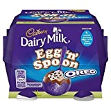 (US) Cadbury Dairy Milk Egg 'n' Spoon with Oreo (4 eggs to share) 136g