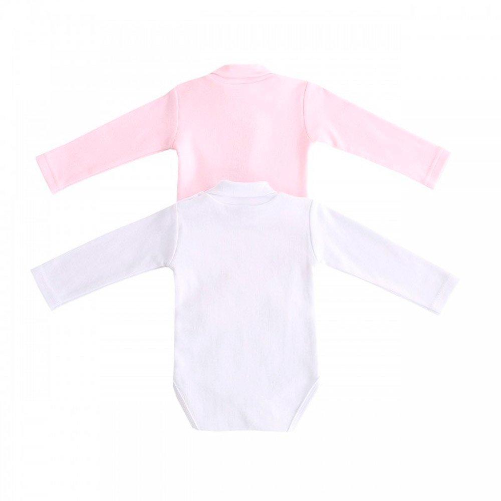 Body Cuello Alto Bebe Ni/ña 3-24 Meses