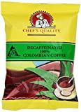 Chefs Quality Colombian Decaf Coffee, 84 Ounce