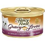Purina Fancy Feast Gravy Lovers Chicken Feast In Grilled Chicken Flavor Gravy Wet Cat Food - (24) 3 Oz. Cans