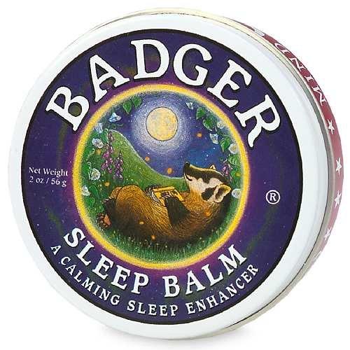 Badger Sleep Balm - Balm, Sleep Balm 2 oz (56 g) by Badger (Pack of 5)