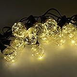 LED Globe String with 25 Globe Bulbs