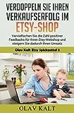 Olav Kalt Etsy Spickzettel: Verdoppeln Sie ihren Verkaufserfolg im Etsy-Shop