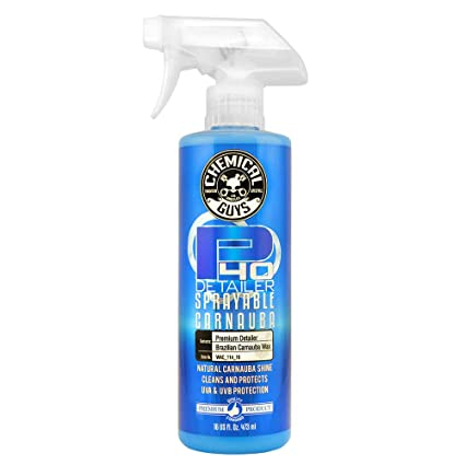 Chemical Guys WAC_114_16 P40 Detailer Quick Detailer and UV Protectant (16  oz)