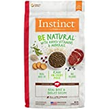 Instinct Be Natural Real Beef & Barley Recipe Natural Dry Dog Food by Nature's Variety, 4.5 lb. Bag