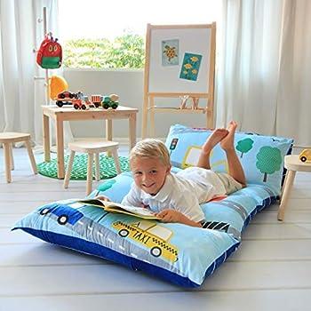 Amazon Com Butterfly Craze Kid S Floor Pillow Bed Cover