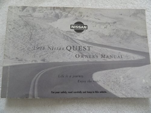 1998 Nissan Quest Owners Manual