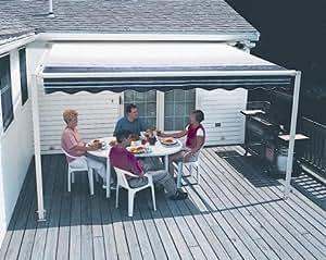 Amazon.com: 10FT SunSetter Black Stripe 900XT Retractable ...