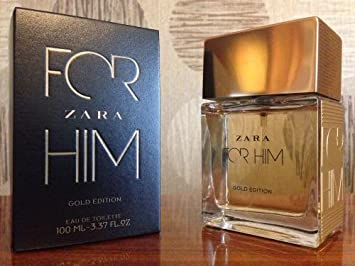 ZARA For Him Gold Edition Edt 100ml/3.37 oz