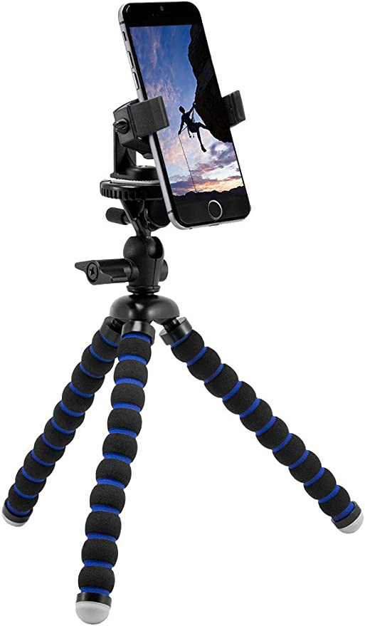 Arkon Stativanschluss Für Iphone 7 6s Plus 6 Plus 6s 6 5s Galaxy Note 5 S6 S5 Schwarz Elektronik