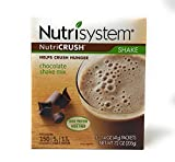 Nutrisystem Nutricrush Chocolate Shake Mix New & Improved 1.4 oz, 5 count, pack of 2