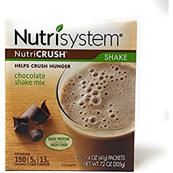 Amazon Com Nutrisystem Nutricrush Chocolate Shake Mix New