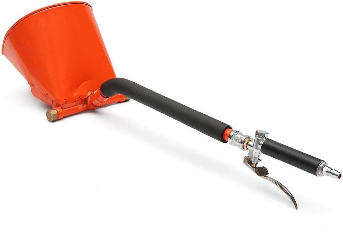 YASE-king Herramientas eléctricas, herramientas de mano for calafatear Aire estuco de cemento Textura Hopper pulverizador de pintura de yeso de enlucido de pared de la tolva de la boquilla y la pistol