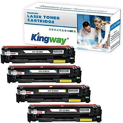 kingway Compatible HP 201 X CF400 X cartucho de tóner para HP ...
