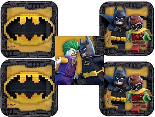 Batman Dinner Plates Dessert Napkins