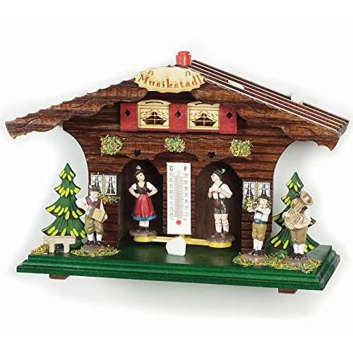 Exclusive German Black Forest weather house TU 845 - Exclusive Houses