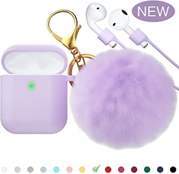 Amazon Com For Airpods Case Ctybb Silicone Airpods Case Cover